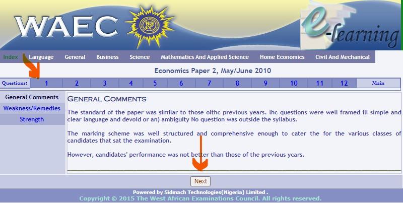 WAEC Economics past question