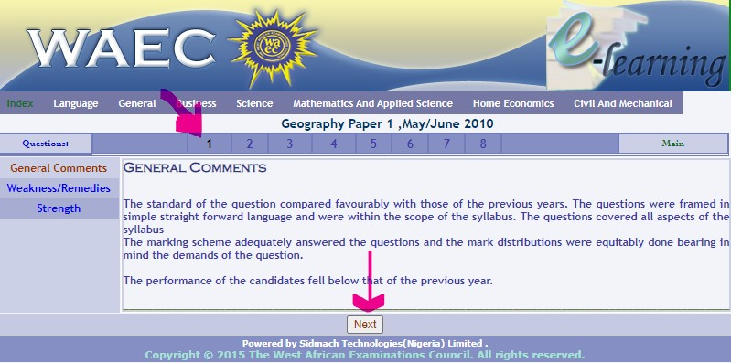 WAEC Geography Past Question