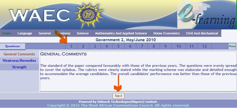 WAEC Government past question