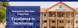 Abia Poly admission list